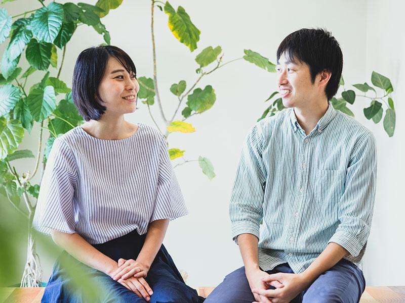 アイトーン経営者の篠田拓也・ゆみこ夫妻